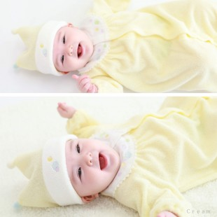 Aenak Birth Newborn Baby Hat - Yellow