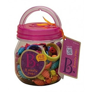 Battat Beauty Pops Bead Jar - 150 Piece Set
