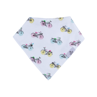 Captain Silly Pants 有机棉围嘴 -Bike Bandana Bib