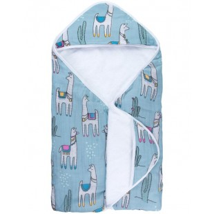 Captain Silly Pants Hooded Towel-Llama Llama
