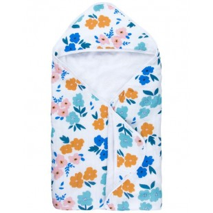 Captain Silly Pants Hooded Towel-Summer Flower