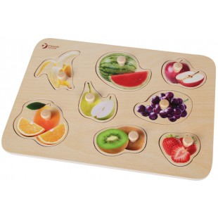 Classic World Fruit Puzzle