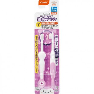 Combi Baby Training Toothbrush Set (Step 2) 9month+