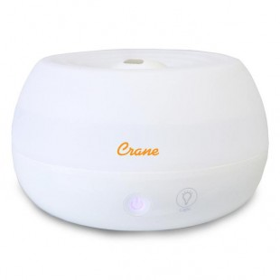 Crane Ultrasonic Personal Humidifier and Diffuser - White