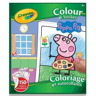 Crayola 涂鸦贴纸书:Peppa Pig