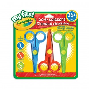 Crayola My First™ Safety Scissors (3 Patterns)