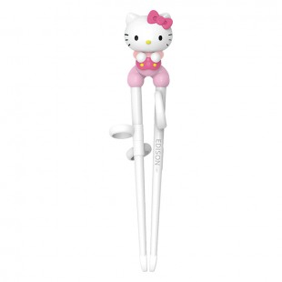Edison Kids Chopsticks with Case For Right Hand (Hello Kitty)