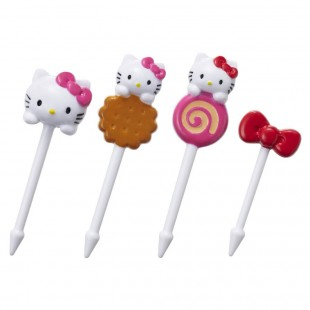 Hello Kitty Fork Pick 8pcs