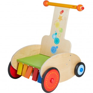 HABA Walker Wagon Clickety-clack speedster