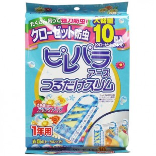 Japan Earth Insecticide For Clothes 10pcs (Floral-scented)