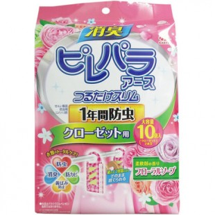 Japan Earth Insecticide For Clothes 10pcs (Rose)