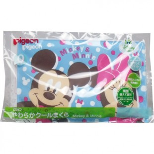 Pigeon Soft Cool Baby Pillow - Mickey & Minnie
