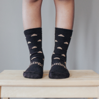 Lamington Merino Wool Crew Socks   Child   Erryl