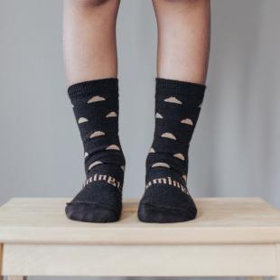 Lamington Merino Wool Crew Socks | Child | Erryl