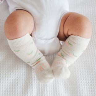 Lamington Merino Wool Knee High Socks | Baby | ROSIE