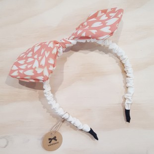 Little Ellie Hand Made Kids Headband - Orange