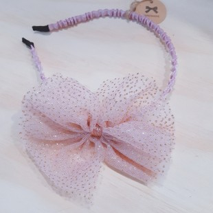Little Ellie Hand Made Kids Headband - Pink