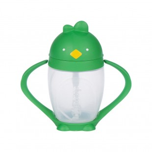 Lollaland Straw Sippy Cup 296ml Green