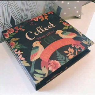 Memobox Photo Album 31.5*32*6  (600pcs 3R/8.9x12.7cm photo) - Flower Pattern