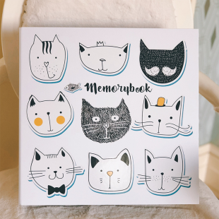 Memobox Photo Album 31.5*32*6  (600pcs 3R/8.9x12.7cm photo) - Cat
