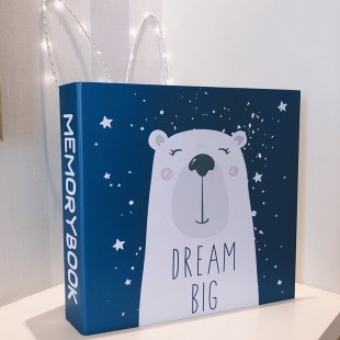 Memobox Photo Album 31.5*32*6  (600pcs 3R/8.9x12.7cm photo) - Dream Big