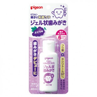 Pigeon Baby Toothpaste Gel 40ml - Grape flavor