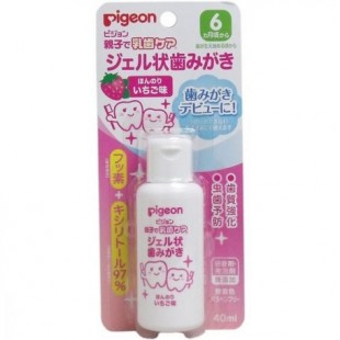 Pigeon Baby Toothpaste Gel 40ml - Strawberry flavor