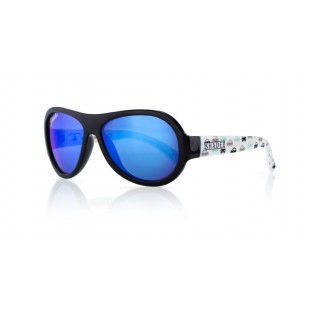 Shadez Designer Sunglasses - Age 3-7 - Car Print Black