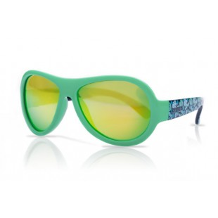 Shadez Designer Sunglasses - Age 3-7 - Leaf Print Green