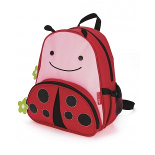Skip Hop Zoo Little Kid Backpack-Ladybug