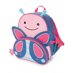 Skip Hop Zoo Little Kid Backpack-Butterfly