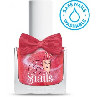 Snails儿童指甲油 水溶性安全无毒无味 可水洗 指甲油 - Disco Girl