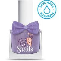 Snails Safe Nail Polish (washable Child-friendly) - Purple comet