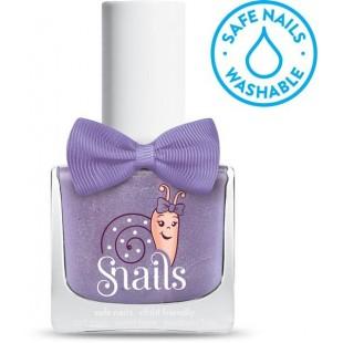 Snails儿童指甲油 水溶性安全无毒无味 可水洗 指甲油 - Purple comet