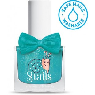 Snails儿童指甲油 水溶性安全无毒无味 可水洗 指甲油 - Splash Lagoon