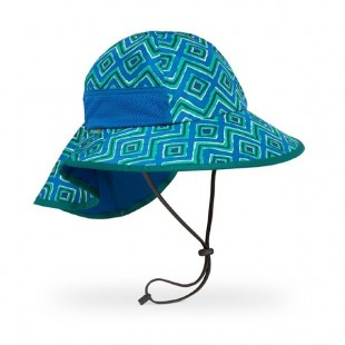 Sunday Afternoons Kids Play Hat (Blue Solar Geodes)