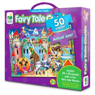 Jumbo Floor Puzzle - Fairy Tale Castle 50 pcs