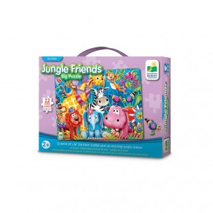 The Learning Journey My First Big Floor Puzzle-Jungle Friends 12 pcs