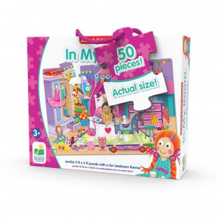 The Learning Journey Jumbo Floor Puzzle - My Room 50 Large pcs