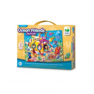 The Learning Journey My First Big Floor Puzzle-Ocean Friends 12 pcs