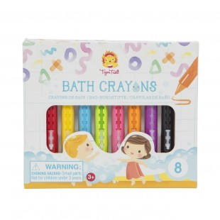 Tiger Tribe Bath Crayons 8 units