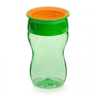 WOW CUP for Kids 360 Drinking Cup - Green 296 ml