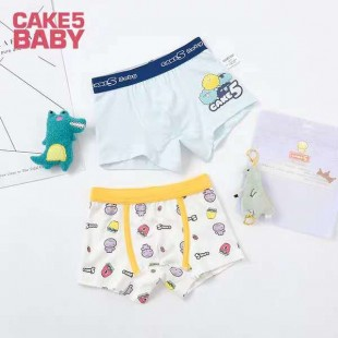 Cake 5 Kids Underwear 2pk Cartoon - Boys shortie