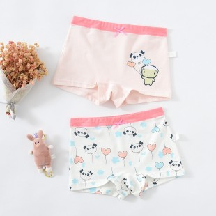 Cake 5 Kids Underwear 2pk Panda - Girls shortie
