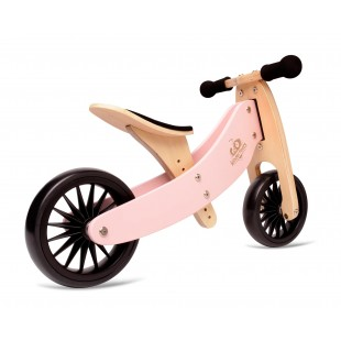 Kinderfeets Tiny Tot PLUS 2-in-1 Bike Rose (PRE-ORDER, USUALLY SHIPS IN 5 WORKING DAYS)